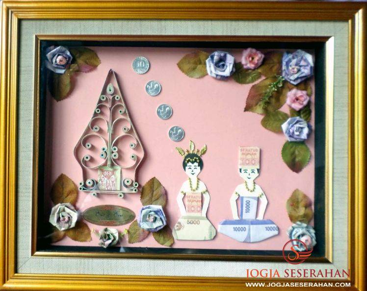 Seserahan pernikahan hantaran pernikahan mahar uang souvenir